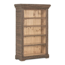 Rustic Bookcase #2080  by La Lune Collection - Rustic Bookcase #2080 by La Lune Collection