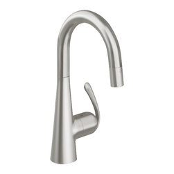 Grohe - Grohe Ladylux Pro kitchen faucet, Supersteel - Ladylux3 Pro
