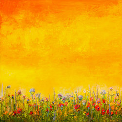 Spell Of The Midsummer Residents / Oil / 36 x 36 /@ Fine Line Designs Gallery, D -