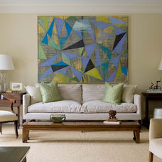 Eclectic Living Room by Prentice Interiors