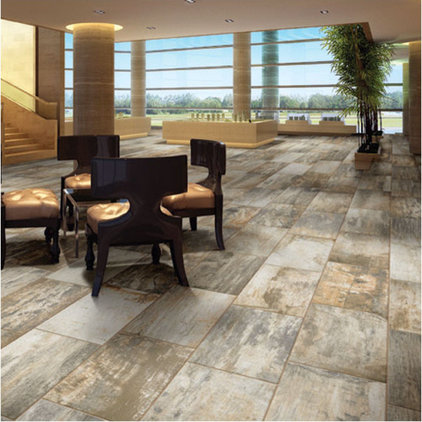 Contemporary Wall And Floor Tile by HomeThangs
