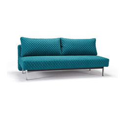Sly Coz Sofa-Sleeper, Innovation - Perfect seating and sleeping comfort embodied in an elegant design that allows it to be free standing in the middle of a room.