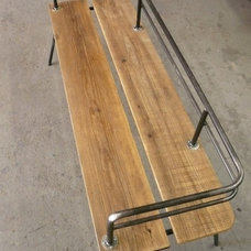 Contemporary Outdoor Benches by Etsy