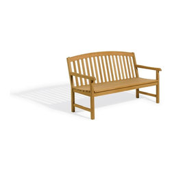 Oxford Garden - Chadwick Bench 5 Foot - Beautifully designed for long lasting comfortable seating, this 4' bench matches the 5' Classic bench and Classic Chairs.