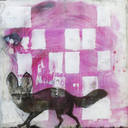 """If Rumi Was A Fox"" (Original) By Skye Macleod - As Creatures Of The Night, Foxes Are Usually Seen During Dusk And Dawn, The ""Between Times"" When When The Magical World Ann The World We Live In Intersect."