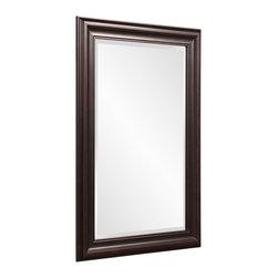 Howard Elliott - Howard Elliott George Mirror, Oil Rubbed Bronze - George oil rubbed bronze mirror