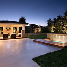 Contemporary Exterior by AMS Landscape Design Studios, Inc.