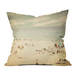 Shannon Clark Vintage Beach Outdoor Throw Pillow - Do you hear that noise? it's your outdoor area begging for a facelift and what better way to turn up the chic than with our outdoor throw pillow collection? Made from water and mildew proof woven polyester, our indoor/outdoor throw pillow is the perfect way to add some vibrance and character to your boring outdoor furniture while giving the rain a run for its money.