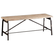 Industrial Outdoor Benches by Chachkies
