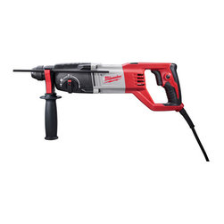 "Milwaukee Electric Tools - 7/8In Sds D-Handle Rotary Hammer - Features a lightweight design to provide ease of use and reduce user fatigue. Mechanical clutch protects tool when bit binds up. 3-mode operation: rotary hammer, hammer only and rotation only. Variable position chisel stop allows steel to be adjusted for   work in any orientation. Specs:1.8 ft-lbs impact energy, 0-1,500 no load rpm, 0-5625 no load bpm, 10 ft cord length, double insulated, D-handle style, 2-1/2"" thin wall core bit capacity, and weighs 5.8 lbs.        This item cannot be shipped to APO/FPO addresses.  Please accept our apologies"