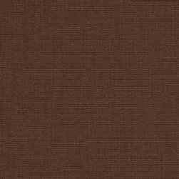 "Sunbrella USA - 48029 Sunbrella Spectrum Coffee Fabric - Sunbrella indoor/outdoor high performance fabric.  5 year warranty against fade, mildew and water resistance. 100% Solution-dyed Acrylic Yarns.  54"" wide. Solid.  Manufactured in the United States.  Machine wash - cold water. NO DRYER/HEAT."