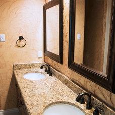 Traditional Bathroom by Sinjin Studios Premier Remodeling LLC