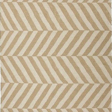 Moroccan Salma Herringbone Wool Rug -