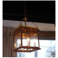 Traditional Pendant Lighting John Street Collection Lantern
