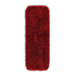 "Garland Rug - Bath Mat: Accent Rug: Jazz Chili Pepper Red 22"" x 60"" Bathroom - Shop for Flooring at The Home Depot. Liven up your bathroom with a Jazz Shag Bathroom Rug. These hip and fun rugs will fit easily into any bathroom decor. Jazz is made with 100% nylon for superior softness and colorfastness. Proudly made in the USA."