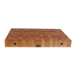John Boos - Rectangular Chopping Board in Maple Finish (4 - Choose Size: 48 in.Non-reversible cutting board. Maple finish