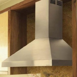 "Vent-A-Hood - ARS Series PDAH14-K48 SS 48"" Chimney Style Wall Mounted Duct-Free Ventilation Ra - Do you have a condo high-rise or other situation where ducting out of the home is not feasible and where duct-free cooking is a reality The Vent-A-Hood Duct-Free Air Recovery System ARS is the answer The Duct-Free ARS collects the rising gases separa..."