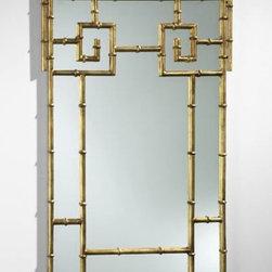 Bamboo Metal Mirror - Clayton Gray Home -