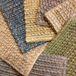 Showroom Products - Our Jute Boucle made to order rug program. Rugs can be made up to 15' wide. Allow 8 weeks for delivery.