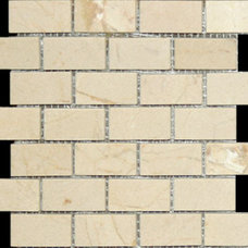 Traditional Tile by Synergy Design & Construction