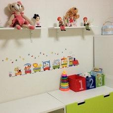 Modern Storage Boxes KUSINER Toy Storage Boxes, Blue/Green, Red