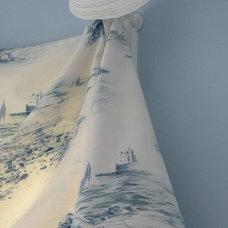 Beach Style Bedroom by Window Designs Etc. by Marie Mouradian