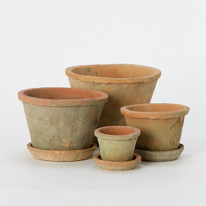 Traditional Indoor Pots And Planters by Terrain