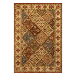 Safavieh - Traditional Heritage 6'x9' Rectangle Beige-Beige Area Rug - The Heritage area rug Collection offers an affordable assortment of Traditional stylings. Heritage features a blend of natural Beige-Beige color. Hand Tufted of Wool the Heritage Collection is an intriguing compliment to any decor.