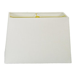 """""""Royal Designs, Inc"""" - Rectangle Hard Back Lamp Shade - """"This Rectangle Hardback Shade is a part of Royal Designs, Inc.�Timeless�Hardback Shade Collection�and is perfect for anyone who is looking for a simple yet stunning lampshade. Royal Designs has been in the lampshade business since 1993 with their multiple shade lines that exemplify handcrafted quality and value."""
