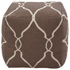 Contemporary Footstools And Ottomans by Fabric Beautiful