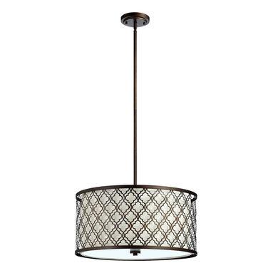 Cyan Design - Cyan Design Lighting - 04658 Large Byzantine Pendant - Cyan Design 04658 Large Byzantine Pendant