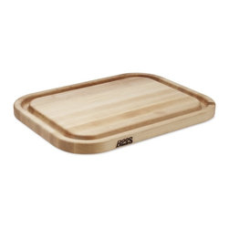 Boos Large Carving Board - Make sure you have a heavy duty carving board built to catch all those delicious juices.