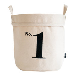MAIKA - Recycled Canvas Bucket, No. 1, Large - AS SEEN ON THE TODAY SHOW
