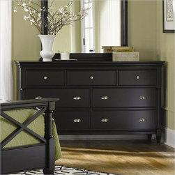 Magnussen - Magnussen Regan Wood 7 Drawer Dresser in Black - Magnussen - Dressers - B195820