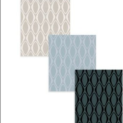 Echo Design - Echo Design Eclipse Wallpaper - This new Echo Design wallpaper collection is both fun and attention grabbing. Suede accents and mirrored, shimmering geometric shapes work together to create a contemporary design.