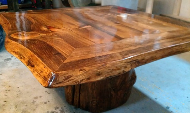 Rustic Coffee Tables by Flagstaff Furniture Company