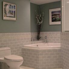 Eclectic Bathroom by Glickman Design Build