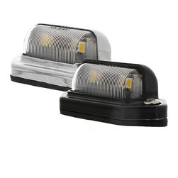 LED Deck/Step Accent Light - Deck Step or Accent Light with 2 High Power 5050SMD LEDs. Waterproof Polycarbonate design includes chrome plated brass or black plastic bezel housing, rubber gasket and 2 SS screws for mounting.