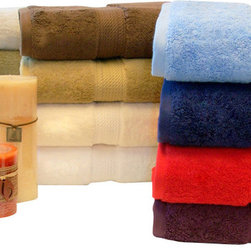 Bed Linens - Egyptian Cotton 900GSM 6pc Towel Set Toast - Towel Set Includes: