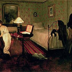 Interior Scene (The Rape), c.1868/69 | Edgar Degas | Canvas Prints - Condition: Unframed Canvas Print