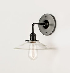 modern wall sconces by Schoolhouse Electric