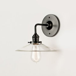 Satellite Wall Sconce - This is a great, less-fussy sconce option. The Edison bulb is what really sold me.
