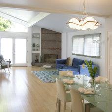 Beach Style Living Room by Konni Tanaka Design Group