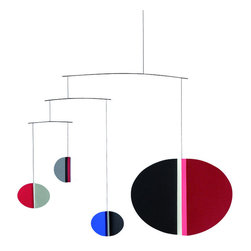 Flensted Mobiles - Tate Mobile - Are you in search of a mobile that will not only stimulate your baby, but also add style to your nursery? Designed for the Tate Modern in London, this mobile is art and entertainment in one.
