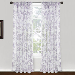 Vintage House by Park B. Smith - Plum 24 x 84-Inch Pleat Window Panel - - Vintage house 100% polyester 24 x 84-inch pleat panel pairs treatment. Dry clean only  - made in china  - items included in the set: 2 window panels Vintage House by Park B. Smith - ROSH1P-PLM