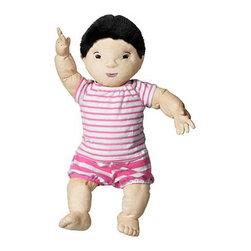 Annie Huldén - LEKKAMRAT Doll - Doll, pink