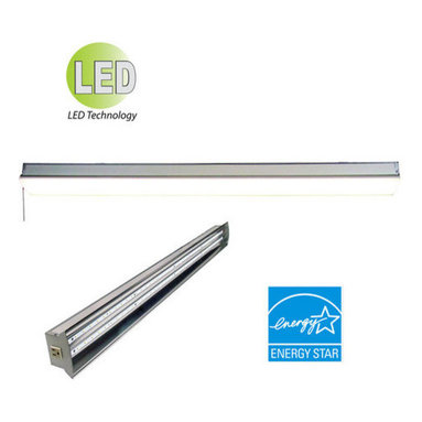 HomeSelects International - HomeSelects International 8155 BuilderSelects 2 Light Energy Star LED Shop Light - Features: