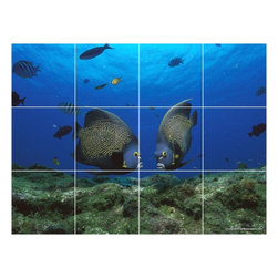 Picture-Tiles, LLC - Sealife Photo Wall Back Splash Tile Mural  12.75 x 17 - * Sealife Photo Wall Back Splash Tile Mural 1829