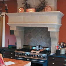 Traditional Kitchen by Old World Stoneworks