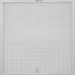 Sunpentown - Replacement HEPA Filter for HEPA Air Cleaner with VOC & TiO2 - Replacement HEPA filter for Air Purifier, model AC-2102